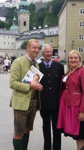 Prince Mario-Max Schaumburg-Lippe, Princess Antonia, Prince Waldemar Press review