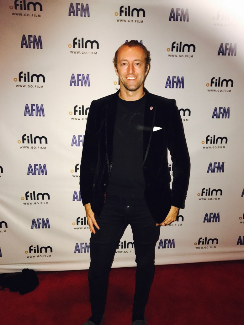 Prince Mario-Max Schaumburg-Lippe Red Carpet Appearance at American Film Market AFM